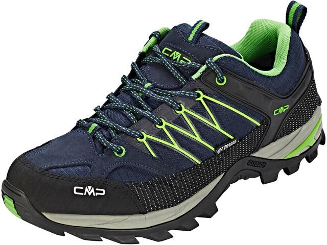 CMP Campagnolo Rigel Low WP Trekking Shoes Herr black blue-gecko